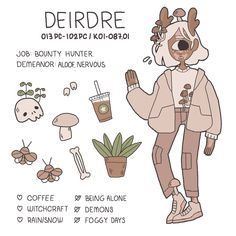 Deirdre lived alone on for most of her life, the planet is aggressive and desolate after the collapse of civilization. out of loneliness she dabbled in baneful magic, harming whatever life was still around her. she didn't actually kill. Cute Art Styles, Cartoon Art Styles, Arte Indie, Cartoon Kunst, Witch Art, Meet The Artist, Kawaii Art, Character Design Inspiration, Pretty Art