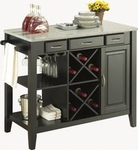 Leif Kitchen Island from JYSK $399.99