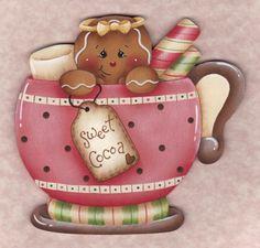 Sweet Cocoa Gingerbread E-Pattern por GingerbreadCuties en Etsy