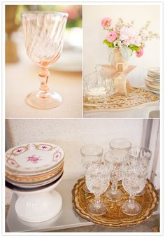 Juneberry Lane: A Sparkly, Vintage Dream of a Baby Shower . . .