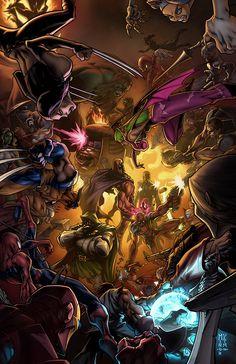 Marvel vs Capcom 3 Art Contest by MinohKim.deviantart.com on @deviantART