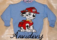 Grid to knitting pattern Dog rescuer Christmas Sweaters, Knitwear, Knitting Patterns, Graphic Sweatshirt, Stitch, Etsy, Prints, Handmade, Tricot