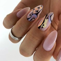43 Beautiful Nail Art Designs for Coffin Nails Dream Nails, Love Nails, Pretty Nails, Jolie Nail Art, City Nails, Minimalist Nails, Manicure E Pedicure, Nail Swag, Nagel Gel