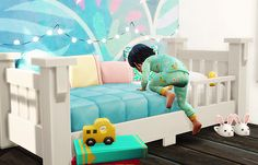 + Here's my quilted mattress for toddlers. It comes in 44 colors this time (complete Ever so Lovely palette + complete 8bitto cafe + 3 (white, grey, black). You can find it easily by typing 'SiW' in the...