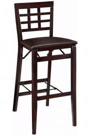 Window Pane Foldable Bar Stool