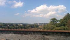 Barnstaple from the Iron Bridge