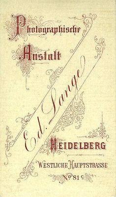 LANGE Ed. - Heidelberg
