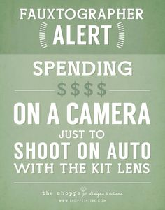 I appreciate people who want to get into photography and learn. Pet peeve is the people who think that shooting with an expensive camera in auto mode makes them a professional photographer.