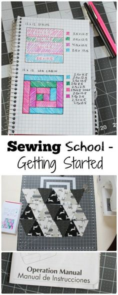 Getting Started Sewing - www.sewwhatalicia.com