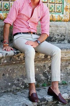 Men's guide: How to Wear a Pink Shirt