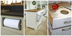 15 Utterly Genius Hidden Kitchen Storage Solutions  - CountryLiving.com
