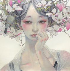 "R. Leveille & Miho Hirano at Corey Helford Gallery.Opening on Saturday, March 26th, 2016 at Corey Helford Gallery in Los Angeles, California are two epic new shows: R. Leveille's ""Savage Garden"" and..."