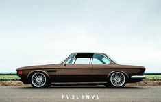 Now live in the #fueltankapp, the full story on probably the finest custom BMW E9 to date, Cole Foster's 1971 #2800CS from #FuelMagazine…