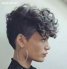 Short Hairstyles For Thick Hair, Haircuts For Curly Hair, Curly Hair Cuts, Modern Hairstyles, Girl Short Hair, Short Hair Cuts, Curly Hair Styles, Natural Hair Styles, Curly Short