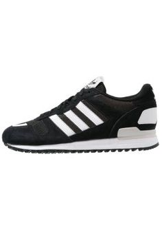 adidas Originals ZX 700 - Sneaker - core black/white/pearl grey  - Zalando.de