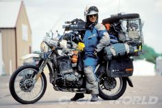 Packing your adventure bike.
