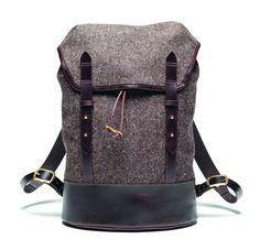 Cherchbi Black Sail Rucksack - Herdwyck Brown Tweed - Accessories - Shop Online