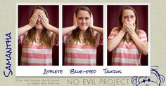 Samantha: Athlete, Blue-eyed, Taurus - I've been giving blood to the American Red Cross since I was 17
