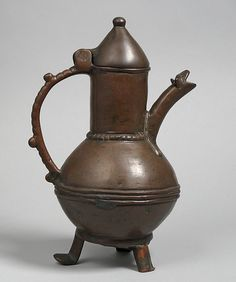 Ewer, Date: 12th century Culture: Western European Medium: bronze, originally gilt