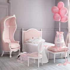 Chambre d'enfant : les plus jolies chambres de petites filles : Une vraie chambre de princesse - Maisons du Monde - Déco - Plurielles.fr