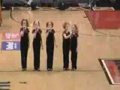 Unbelievable talent...Star Spangled Banner song by 6,7 & 8 year olds...amazing! Get ready to end with tears in your eyes!