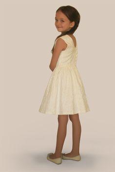 Damask Jakarlı Elbise