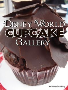 Ive never noticed that cupcakes were such a big deal @ Disney before... Ill be on the lookout now! Disney Cupcake Gallery!