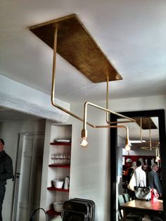 Pierre Frey loft lighting fixture