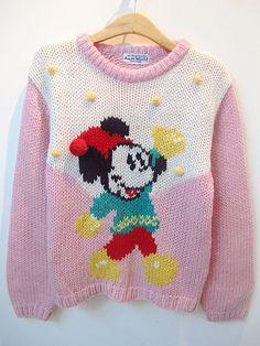 Amazing. Wish it was cheaper..vintage mini sweater. $38.00, via Etsy.