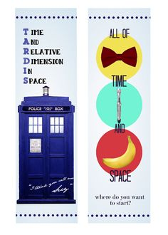 mend the sky with our hands — Made a Doctor Who bookmark WHEN I SHOULD BE...