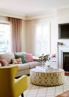 Bright Spark A Family Renovation Embraces Colour And Pattern Home Living Roomoffice Decorinterior Ideasaccent