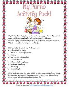 Purim Activity Pack