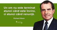 O înfrângere usturătoare, citat de Richard Nixon Life Quotes, Management, Activities, Memes, Youtube, Diana, Instagram, Travel, Quotes