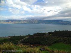 Sea of Galilee - winter- 2014 www.artsncraftsisrael.com