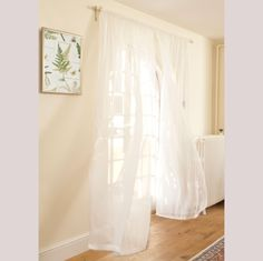 Lara, a beautiful white cotton voile has just been launched on our website - ideal for lightweight curtains, all we need now is some sunshine to recreate this image of them billowing in the breeze on a sunny day :)  http://www.jim-lawrence.co.uk/ProductDetail/10658/Cut-Length-of-Lara-Voile-in-White-Double-Width