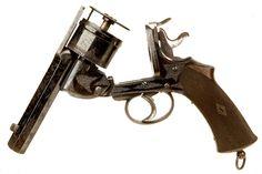 Lincoln Jeffries , Birmingham .450 Top Break Action Revolver Circa 1880.