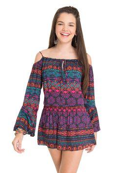 Vestido estampado gobi   Dress to