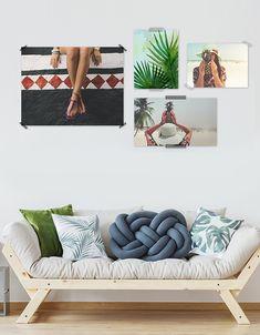 Es Wird Tropisch   Mit Postern Von Deinen Schönsten Urlaubsfotos, Ganz  Einfach Mit Washitape An