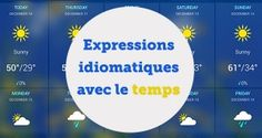Expressions idiomatiques avec le temps - ABA English