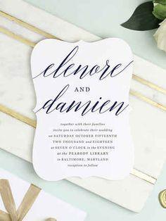 16 Printable Wedding Invitation Templates You Can DIY | TheKnot.com