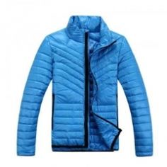 Cool Blue Down Jacket