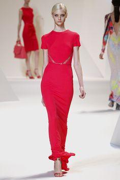 Elie Saab Spring 2013 Ready-to-Wear Fashion Show - Nastya Kusakina (Women)
