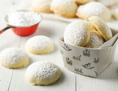 Vanille-Schneebälle Rezept
