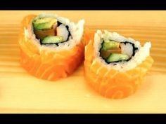 How To Make Alaskan Sushi Rolls