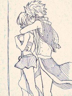 Natsu Dragneel and Lucy Heartfilia, NaLu
