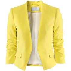 H Jacket ❤ liked on Polyvore
