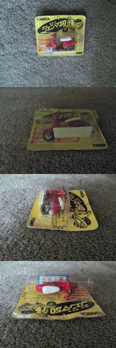 Vintage Manufacture 742: Vintage Tomica #49 Red Suzuki Gemma 50 (1 28) #5 - Rare! - Original Sealed Pack -> BUY IT NOW ONLY: $49.95 on eBay!