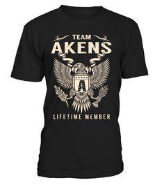 Team AKENS Lifetime Member Last Name T-Shirt #TeamAkens