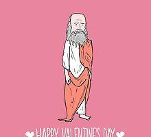 """""""Let's get Platonic"""" Love, Plato: Portrait Valentines by Ben Kling   Redbubble"""