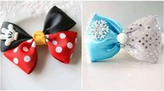 Check These 10 Beautiful Ideas For Making Lovely Princess Bows. They Are Perfect For Girls At Home! You'll Love It!!